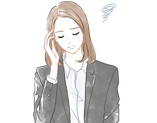 岡山市で頭痛・眼精疲労に悩む女性