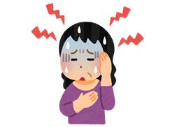岡山市で更年期障害に悩む女性
