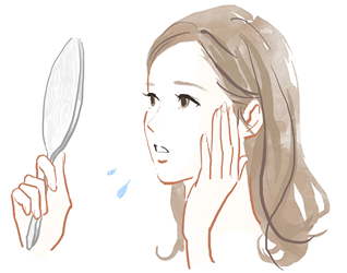 しみ、そばかす、肝ぱんで悩む岡山市の女性
