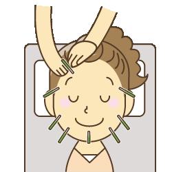岡山市美容鍼灸イラスト